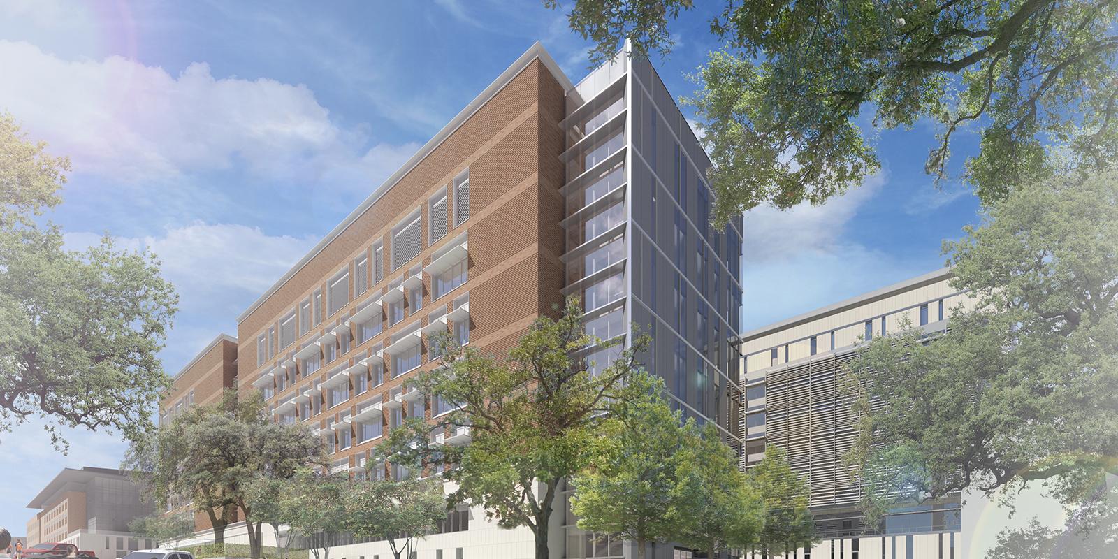 rendering of EEB building